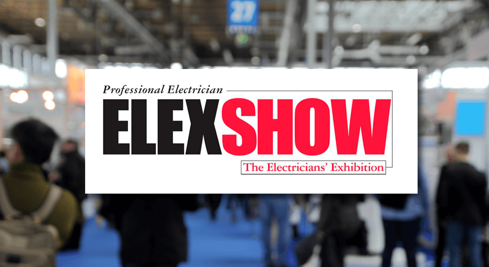 Visit us at ELEXSHOW on 21st & 22nd September!