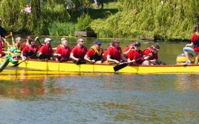 MarkOne Supporting the Himley Hall Dragon Boat Challenge!