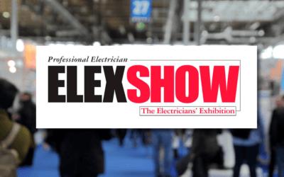 Visit us at ELEXSHOW on 21st & 22nd September!